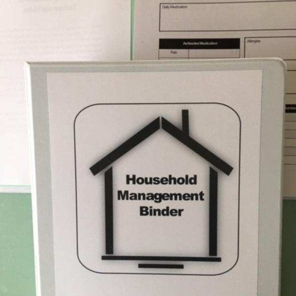 Household Mgt Binder 4