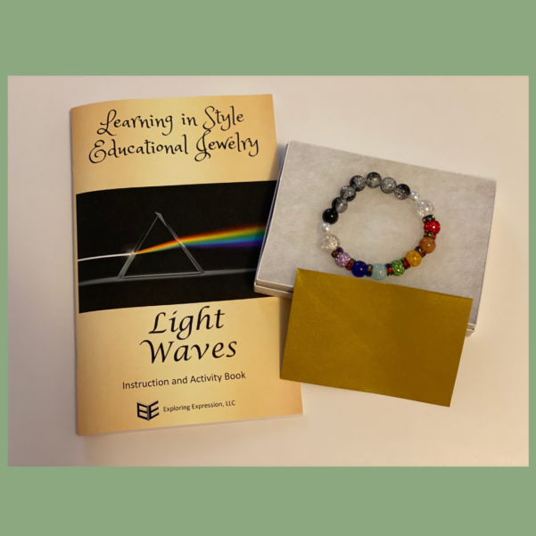 Light waves Bracelet